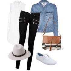 Monday by mrs-smith14 on Polyvore featuring polyvore fashion style T By Alexander Wang Acne Studios Paige Denim Keds maurices Forever 21