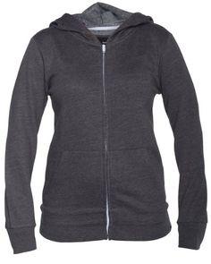 Hurley Solid Slim Fleece Full-Zip Hoodie - Womens