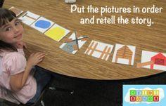 """The Hen's Walk:"" An Easy Reader for Kids to Make Based On Rosie's Wal – Heidi Songs Kindergarten Activities, Book Activities, Rosies Walk, Farm Unit, Easy Reader, Literacy Programs, Teaching Reading, Teaching Ideas, Preschool Books"