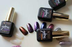 Lakiery hybrydowe Glam Stars oraz Glam Flakes od Nails Company – błyszczące nowości!
