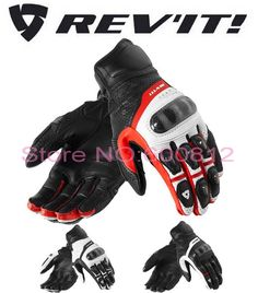 53.01$  Buy here  - 2016 New style Netherlands REVIT CHEVRON 2 motorcycle gloves REV'IT! Chevron motorbike gloves made of leather have three colors