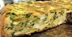 """Astăzi vă oferim o rețetă ușoară de tartă, pe care o va putea prepara orice gospodină. """"Tarta cu cașcaval și ceapă verde"""" este foarte gustoasă și sățioasă, cu aspect apetisant și gust excelent. Tarta este Mango Avocado Salsa, Romanian Food, Lasagna, Quiche, Food And Drink, Pizza, Baking, Vegetables, Breakfast"""