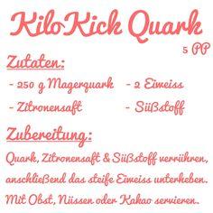 Seit meinem letztenWeight Watchers Update Post haben viele von Euch den Kilo Kick Quark ausprobiert und für sehr gut befunden. Ich liebe die Eiweiß Bombe auch total, vor allem mit frischen Früchten. N