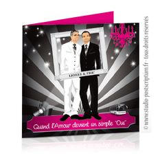 faire part de mariage original gay et lesbien cinma baroque gay and lesbian - Idee Mariage Gay