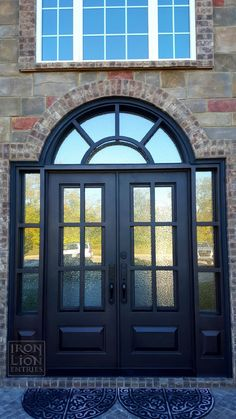 Iron Lion Entries - Iron Entry Door - Home Remodel - Front Door