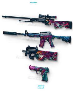 Counter Strike Global Offensive guns Artwork art work csgo cs:go video game skins PC steam powered valve