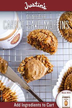 Gluten Free Desserts, Delicious Desserts, Fall Recipes, Sweet Recipes, Breakfast Recipes, Dessert Recipes, Carrot Cake Muffins, Bisquick Recipes, Muffin Tin Recipes