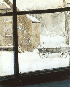 andrew wyeth the mill 1964 by ingrid bergman1, via Flickr