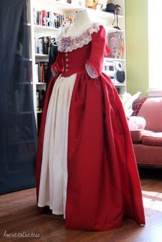 American Duchess' Revolution Dress. I love love love this dress and desperately want a robe a l'anglaise now.