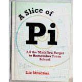 A Slice of Pi, by Liz Strachan http://www.amazon.com/Slice-Math-Forgot-Remember-School/dp/1435127471/ref=sr_1_1?s=books&ie=UTF8&qid=1412473296&sr=1-1&keywords=a+slice+of+pi