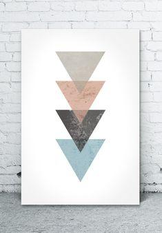 Pôster download grátis triangulos
