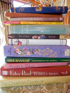 Character-building books for girls