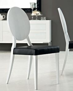 Valdosta Solid Wood Dining Chair (Set of Domitalia Cameo Leather Side Chair in Beech wood and leather H x W x D Solid Wood Dining Chairs, Upholstered Dining Chairs, Dining Chair Set, Dining Room, Eclectic Dining Tables, Home Accents, Chair Design, Side Chairs, Contemporary Design