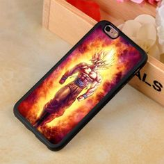 Dragon Ball Z Super Sayan Goku and Vegeta iPhone case