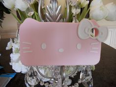 Hello Kitty IPhone 4 rubber Pink case by GlitzGlamourandBling, $12.00
