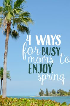 Enjoy spring outdoors with these tips and ideas for fun spring activities!