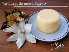 Recetas Dukan: Pastelitos de queso Express Vegetarian Recipes, Healthy Recipes, Dukan Diet, I Foods, Vanilla Cake, Food To Make, Panna Cotta, Cheesecake, Low Carb