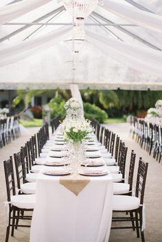 Wedding Reception Decor - white decor inspiration.  #wedding #reception #decor