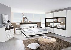Rauch Schlafzimmer Komplettangebot 3 Schrankbreiten 2 Bettgrößen 4 Farben