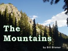 It's a wonderful time to head for the mountains.  If you can't get there in person, take a virtual hike with this book!