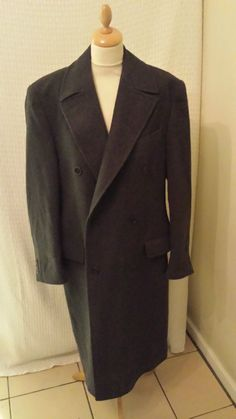 marks & spencer 1 Italian style overcoat coat chest 38 - 40 great condition