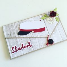 Student 2017 Card Ideas, Graduation, Coin Purse, Bottle, Cards, Students, Coin Purses, Flask, Map