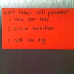 Good parenting!