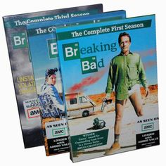 Breaking Bad DVD Set Series 1 - 3 £22  If you like this, why not add it to a Christmas wish list on My List Is Here?  Share your list with family & friends and get a gift you'd really want this Christmas!