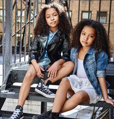 Anais and Mirabelle Cute Twins, Cute Baby Girl, Cute Little Girls, Cute Babies, Beautiful Children, Beautiful Babies, Little Girl Fashion, Kids Fashion, Women's Fashion