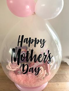 The Little Big Balloon Co in Buxton provide customised balloon gifts and displays in Buxton and the local areas - perfect for gifts, parties, weddings, events & celebrations. Mothers Day Decor, Diy Mothers Day Gifts, Happy Mothers Day, Personalised Gifts Diy, Personalized Balloons, Bubble Balloons, Big Balloons, Mothers Day Balloons, Birthday Ideas For Her