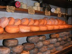 Seriously, a Percorino cheese shop in Tuscany