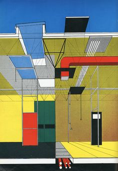 Gordon Cullen. Architectural Review, November 1955