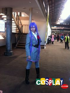Gakupo Kamui Cosplay from Vocaloid in Mini Animania 2013 AU