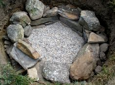 You'll laugh and learn how to build a firepit all in one!