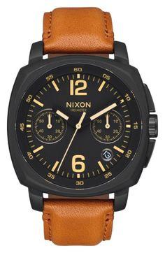 NIXON 經典大錶徑 51-30 Chrono A083-897(玫瑰金)  1f92fe02c40
