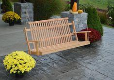 Amish Bent Oak Porch