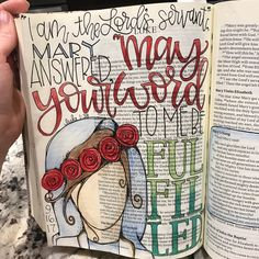 """95 Likes, 15 Comments - Brittney Smith (@blessed.britter) on Instagram: """"I have found a deeper devotion to Mary in my journaling. Her strength and courage in living her…"""""""