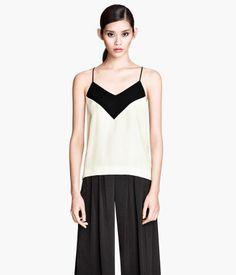 fancy blouse, $30, H&M.com