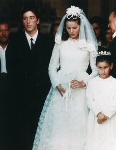 """The Godfather"" wedding dress"