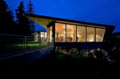 The Edge House by Norway's Jarmund / Vigsnæs AS Architects in Kolbotn, Norway.