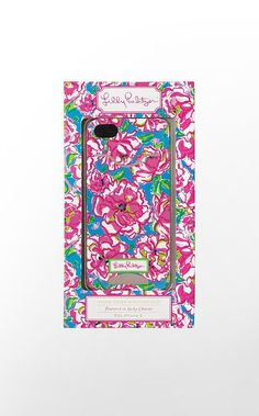 iPhone 5 Cover with Credit Card Slot, lilly pulitzer - $30