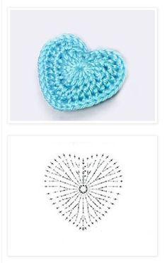 Best 12 Mercedes Cortez's media content and analytics Crochet Diagram, Crochet Chart, Crochet Motif, Easy Crochet, Crochet Stitches, Crochet Flower Patterns, Crochet Designs, Crochet Flowers, Knitting Patterns