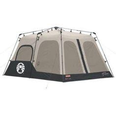 Coleman 8-Person Instant Tent, Black