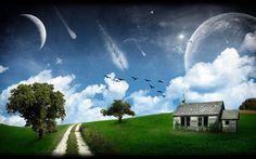 Mountain House Beautiful Scenery Wallpaper HD Download 600×813 Beautiful Scenery Images | Adorable Wallpapers