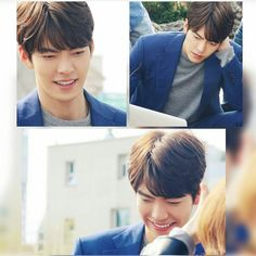 "Oppa at ""Uncontrollably Fond"" Posters Shooting #kimwoobin"