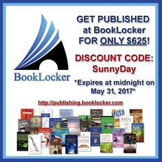 USE THIS DISCOUNT CODE before midnight on Wednesday to save $200! SunnyDay http://newsletter.booklocker.com/get-200-off