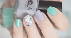 Spring Quinceanera Nail Trends 2017 - Quinceanera Jazz up your nails this Spring with the most adorable and trendy designs of all times! These are the nail trends to rock right now. Spring Nail Trends, Spring Nails, Orange Nail Designs, Nail Art Designs, Shellac Nails, My Nails, Tape Nail Art, Nagellack Trends, Luxury Nails