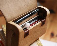 Oak Wood Bag by Haydanhuya - THE FASHIONER