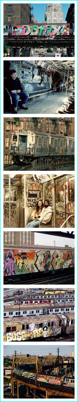 NY Subway Graffiti 1980s