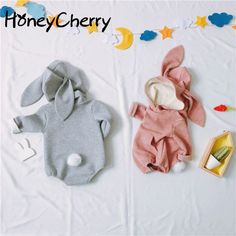Cheap baby body, Buy Quality bodysuit baby directly from China baby clothes bodysuit Suppliers: Baby Rabbit Stereoscopic Shape Of  Children's Conjoined Clothes  Baby Girl Clothes Bodysuit Baby Body For Newborn Babys https://presentbaby.com